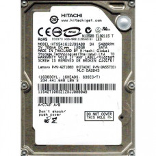 HDD Hitachi 120 GB HTS541612J9SA00 2.5""